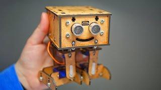 Мини Робот Своими Руками | AlphaDroid V1.0