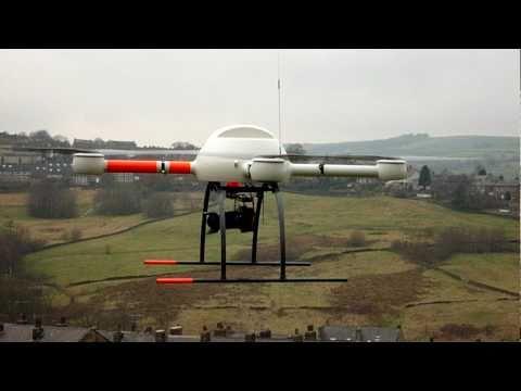 Bonningtons Aerial Surveys show their UAV for photography and video