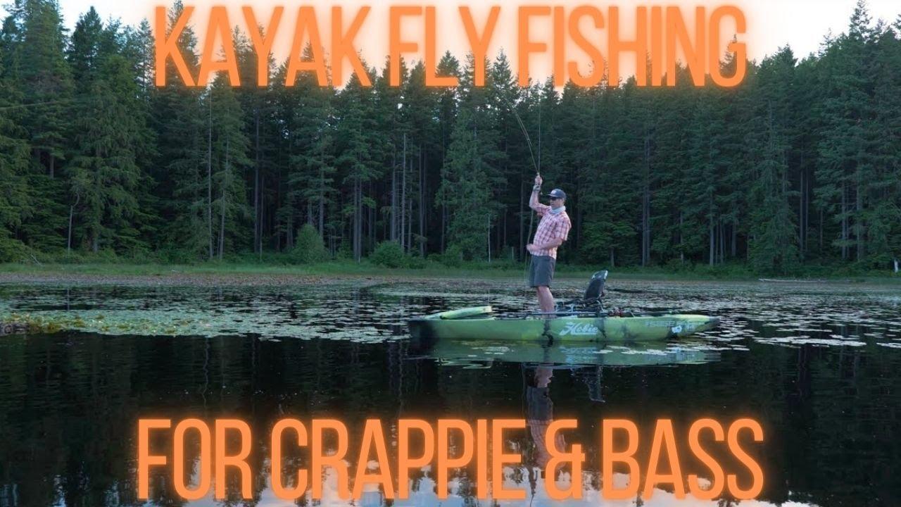 Hobie Pro Angler Kayak Fly Fishing For Bass & Crappie On Kitsap Peninsula
