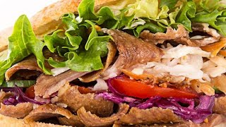 Homemade Doner Kebab Meat Recipe, Super Tasty, Super Easy :)