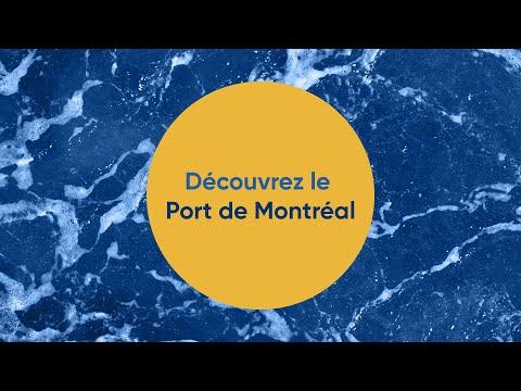 Découvrez Le Port De Montréal