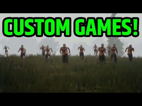 🔵 ZOMBIES & CUSTOMS GAMES | PLAYERUNKNOWN's - BATTLEGROUNDS LIVE