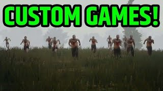 🔵 ZOMBIES & CUSTOMS GAMES | PLAYERUNKNOWN