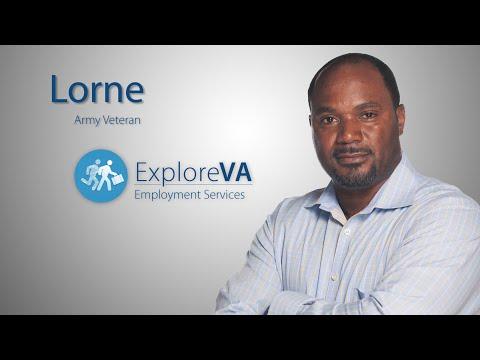 VA Employment Services Helped Lorne Re-enter The Job Market.