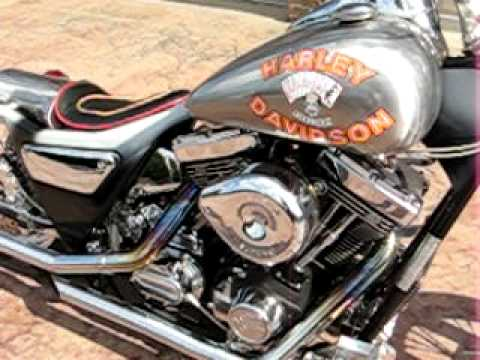 Harley Davidson And The Marlboro Man Chopper Motorcycle Bike Fxr