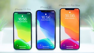 Download iPhone 11 vs 11 Pro vs 11 Pro Max | In-Depth Comparison & Review Mp3 and Videos