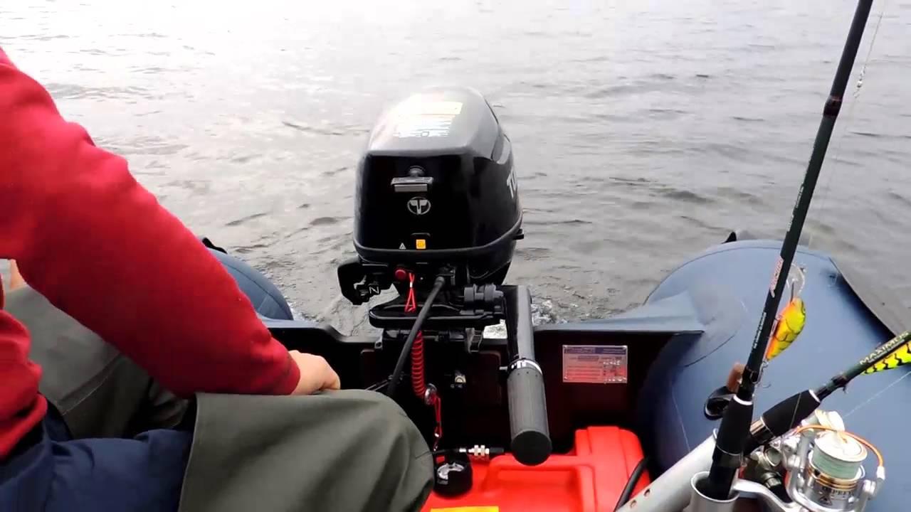 видео лодочные моторы тохатсу первый запуск