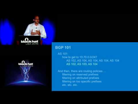 Internet Plumbing for Security Professionals: The State Of BGP Security