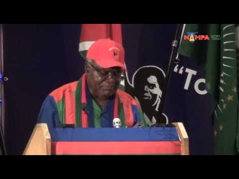 NAMPA: WHK- SWAPO Congress Swapo-Party President, 29 Nov 2012.mov