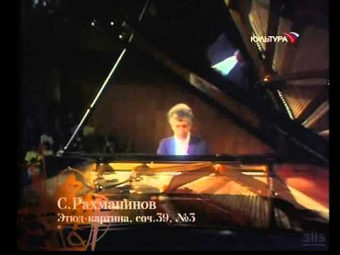 Vladimir Ashkenazy plays Rachmaninoff Etudes-Tableaux op. 39 - live video
