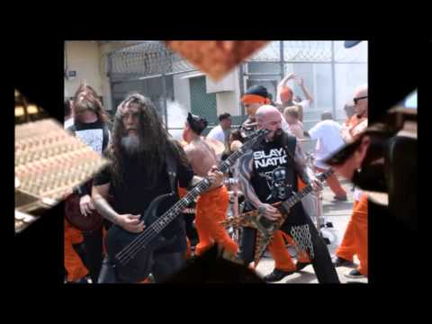 Slayer prison video for Repentless – 5FDP stream Got your Six – Baroness, Purple – Of Mice & Men