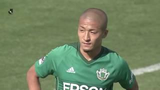2018年4月22日(日)に行われた明治安田生命J2リーグ 第10節 松本vs山...
