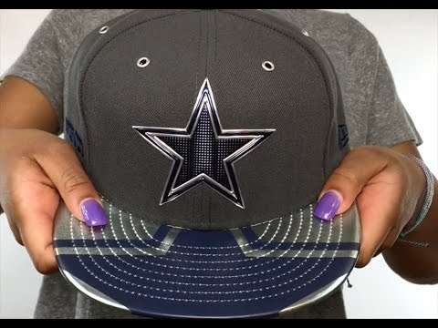 Cowboys  2017 SPOTLIGHT  Charcoal Fitted Hat by New Era - YouTube ec2e2aeef