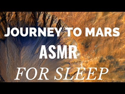 "Journey to Mars ASMR SLEEP STORY ""Deep Sleep in Space"""