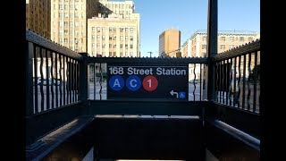 MTA New York City Subway: A Tour Of The Washington Heights-168th Street Station