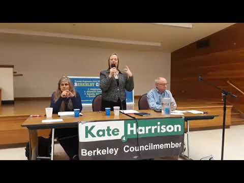 Berkeley Citizens Action Town Hall on Police Reform  11-8-2017