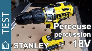 Test Outillage : Perceuse à percussion Stanley Fatmax FMC625