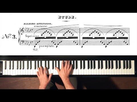"Liszt ""Un Sospiro"" VERSION 1 - Paul Barton, FEURICH 218 piano"