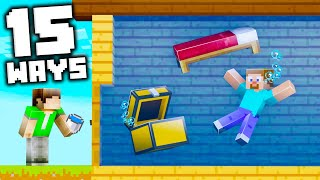 15 Harmless Pranks to Fool Your Friends in Minecraft!