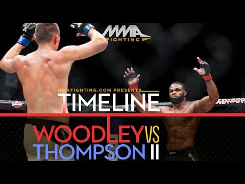 UFC 209: Tyron Woodley vs. Stephen Thompson 2 Timeline