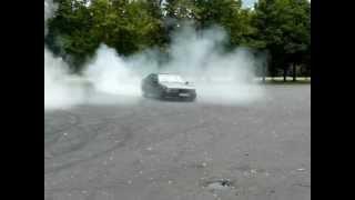 Drift, Palenie Gumy BMW E36 320i bez szpery JAROSZ