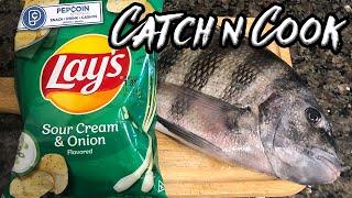 Sour Cream n' Onion Sheepshead (Catch, Clean, Cook)