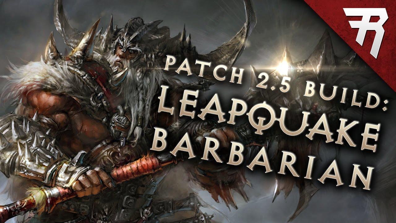 Barbarian Leapquake Build