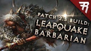 Скачать Diablo 3 2 6 1 Barbarian Build Leapquake GR 118 Guide PTR Season 15