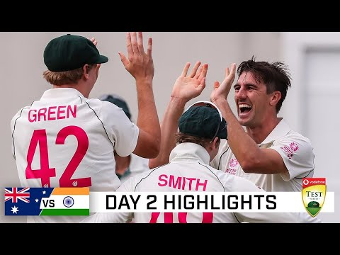 Late wickets boost Australia after Smith hundred | Vodafone Test Series 2020-21