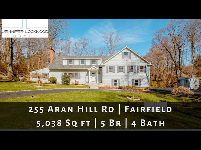 Fairfield CT Home for Sale | 255 Aran Hill Rd, Fairfield | Greenfield Hill
