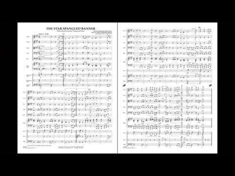 Star Spangled Banner arranged by Paul Lavender