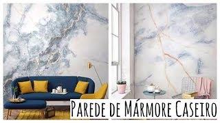 Wand Marmorboden Haus mit 3 Materialien