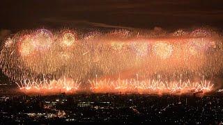 ★ 2015 復興祈願花火「フェニックス」復興への感謝【4K】Nagaoka Fireworks Festival