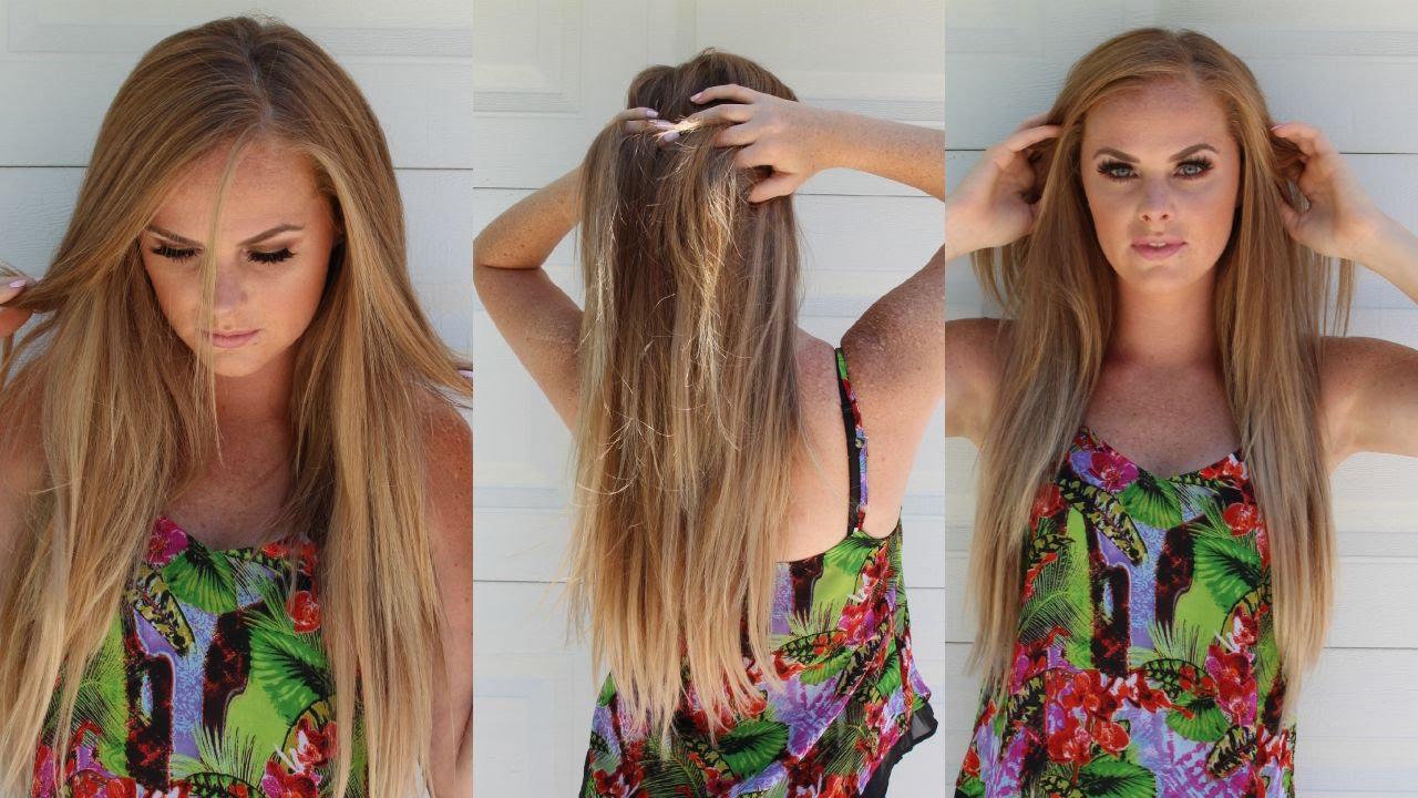 Hair extensions my fantasy hair courtelizz youtube pmusecretfo Gallery