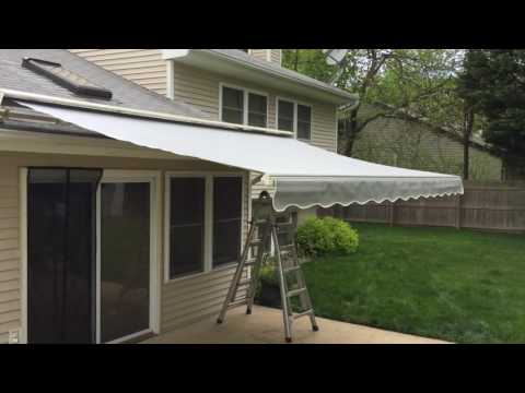 SunSetter Laminated Fabric Retractable Awning in Middletown, NJ 07748