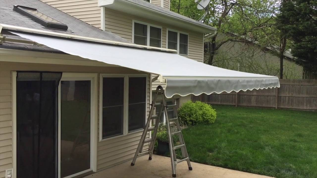 SunSetter Laminated Fabric Retractable Awning In Middletown NJ 07748
