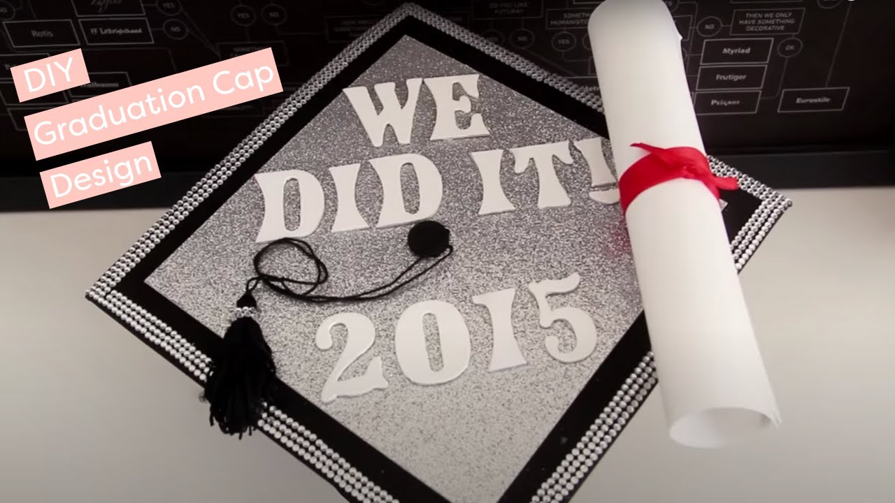How to Make a DIY Graduation Cap Design HGTV Handmade