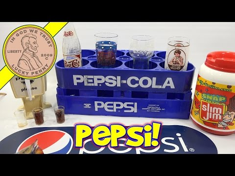 Pepsi Cola Kids Party Dispenser, Slim Jim Snack Time!