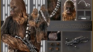 CHEWBACCA STAR WARS A NEW HOPE MMS 262 by HOT TOYS  review