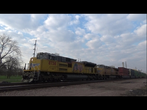 Railfanning CP and UP in Eastern Iowa feat. Citirail, street running, and KCS gray MAC