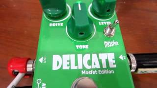 DELICATE VINTAGE OVERDRIVE GUITAR EFFECT BY PEDALTANK