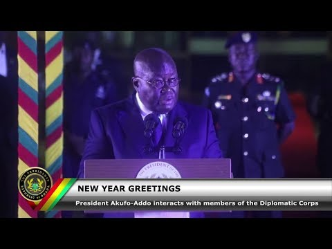 New Year Greetings with Members of the Diplomatic Corps