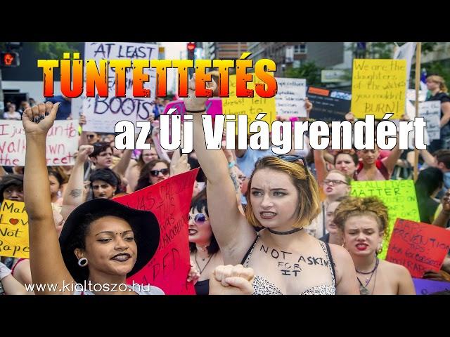 Tüntettetés az Új Világrendért