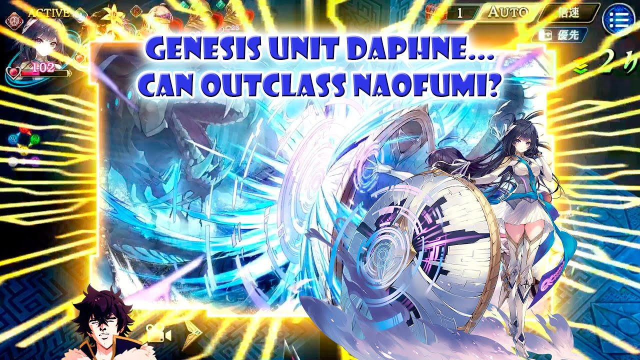 Genesis unit Daphne...can outclass Naofumi?
