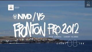 2012 IBA NMD/VS FRONTON PRO - Final Day