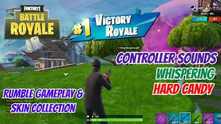 ASMR Gaming: Fortnite | Hard Candy, Whisper, Controller Sounds - Getting Good Ep 3 & Skin Collection