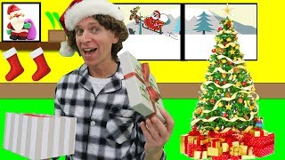 Santa Is Coming Christmas Song with Matt | Story Song | Learn English Kids