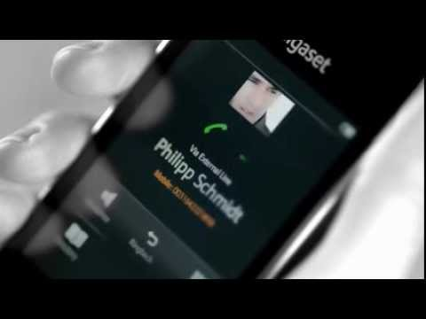 Touchscreen handset Gigaset SL910H