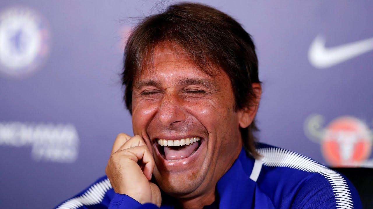 Antonio Conte laughs off go Costa comments and says 'he is the ... on gianluca vialli, claudio marchisio, claudio ranieri, carlo ancelotti, luca toni, giorgio chiellini, didier deschamps, sebastian giovinco, antonio cassano, andrea barzagli, marco borriello, roberto baggio, marcello lippi, arturo vidal, massimiliano allegri, diego simeone, alessandro del piero, andrea pirlo, fabio quagliarella,