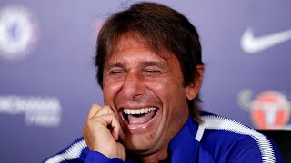 Antonio Conte laughs off Diego Costa comments and says 'he is the past'
